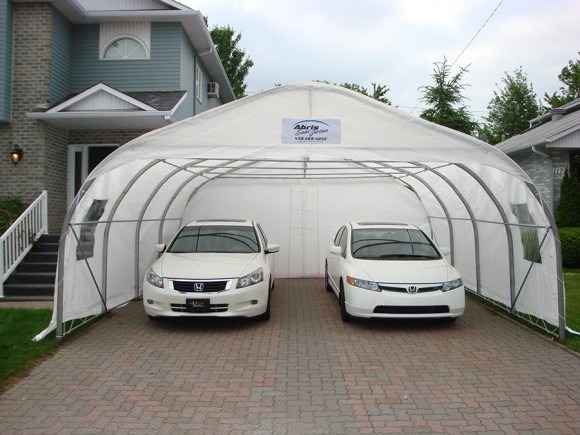Double promotionnal car shelter 2